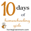 Future Homeschool Teachers | Homeschooling Girls Day 4