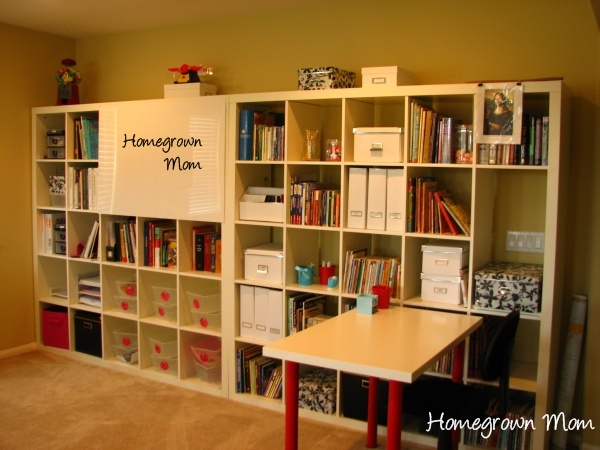 our homeschool room angela mills - Home School Furniture